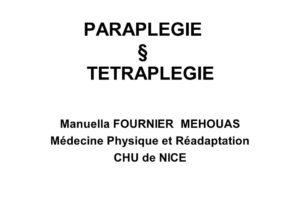 PARAPLEGIE ET TETRAPLEGIE .PDF