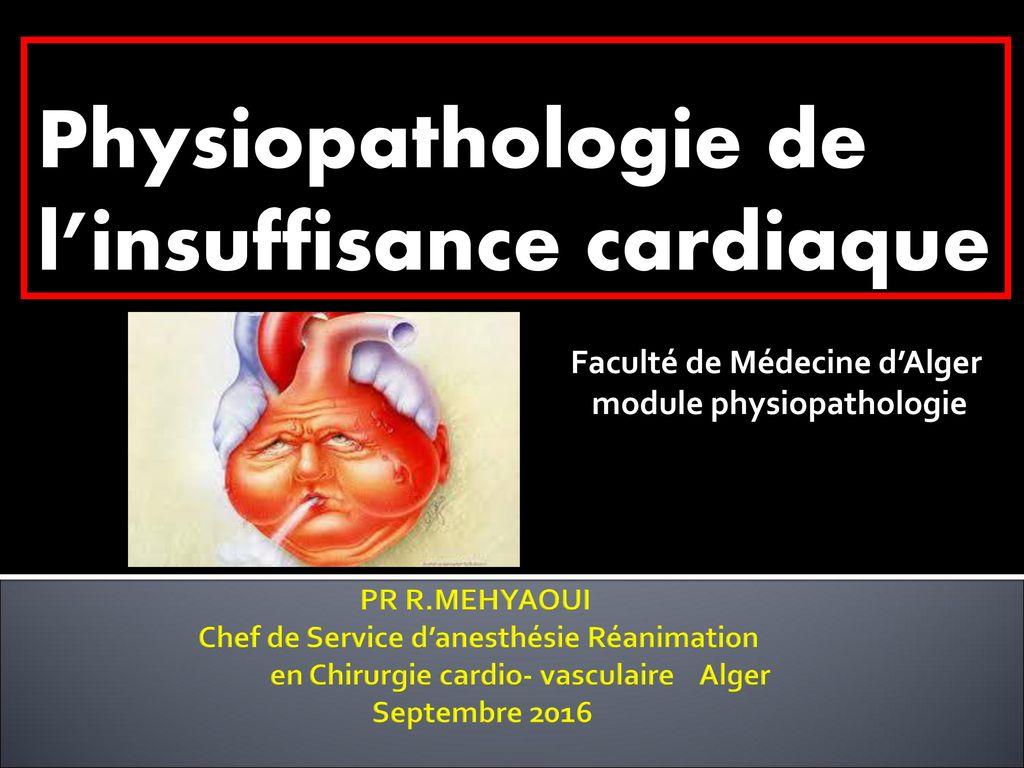 Physiopathologie de l'insuffisance cardiaque .PDF