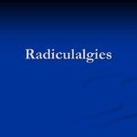 Radiculalgies .PDF