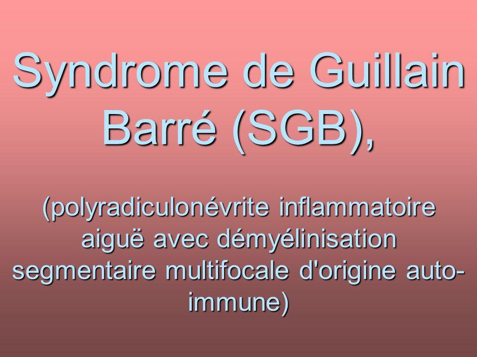 Syndrome de Guillain Barré (SGB) .PDF