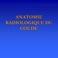 ANATOMIE RADIOLOGIQUE DU COUDE .PDF