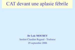 CAT devant une aplasie fébrile .PDF