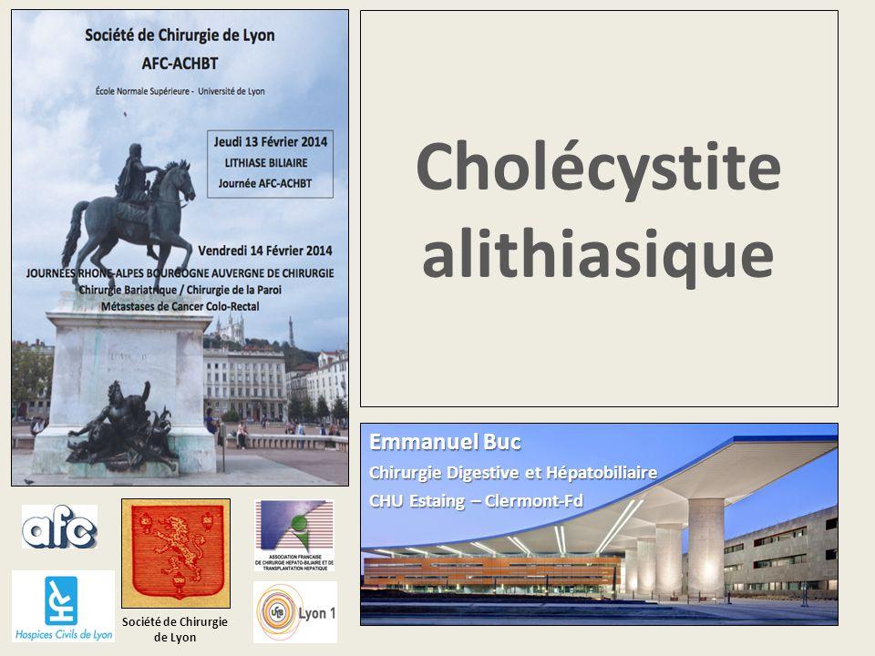 Cholécystite alithiasique .PDF