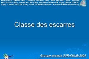 Classe des escarres .PDF