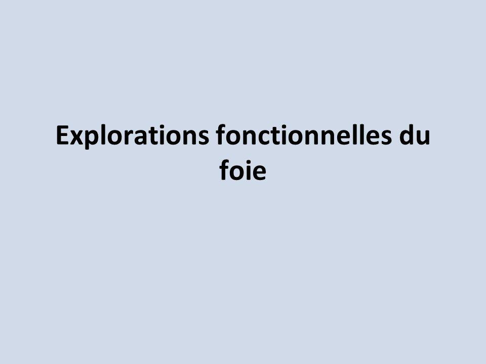 Explorations fonctionnelles du foie .PDF