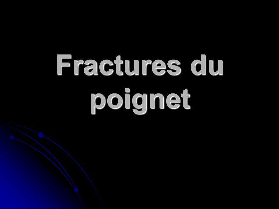 Fractures du poignet .PDF