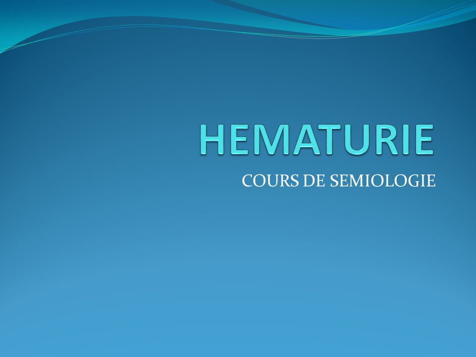 HEMATURIE .PDF