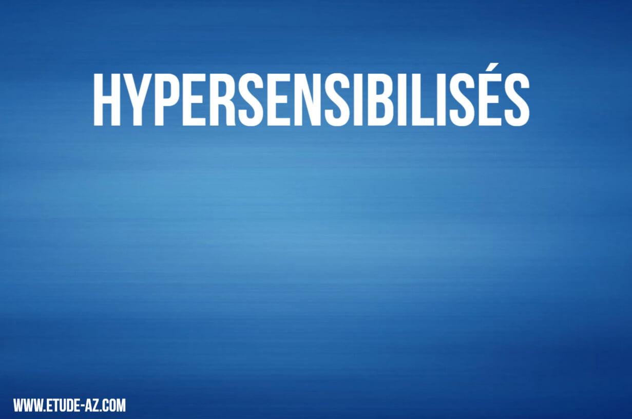 Hypersensibilisés .PDF