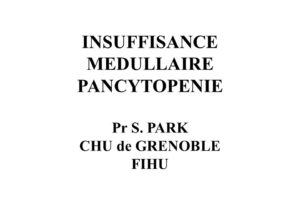 INSUFFISANCE MEDULLAIRE PANCYTOPENIE .PDF