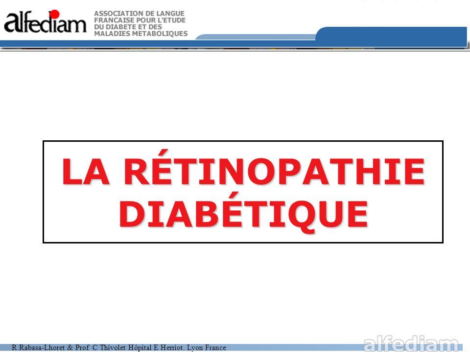LA RÉTINOPATHIE DIABÉTIQUE .PDF