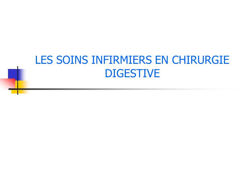 LES SOINS INFIRMIERS EN CHIRURGIE DIGESTIVE .PDF