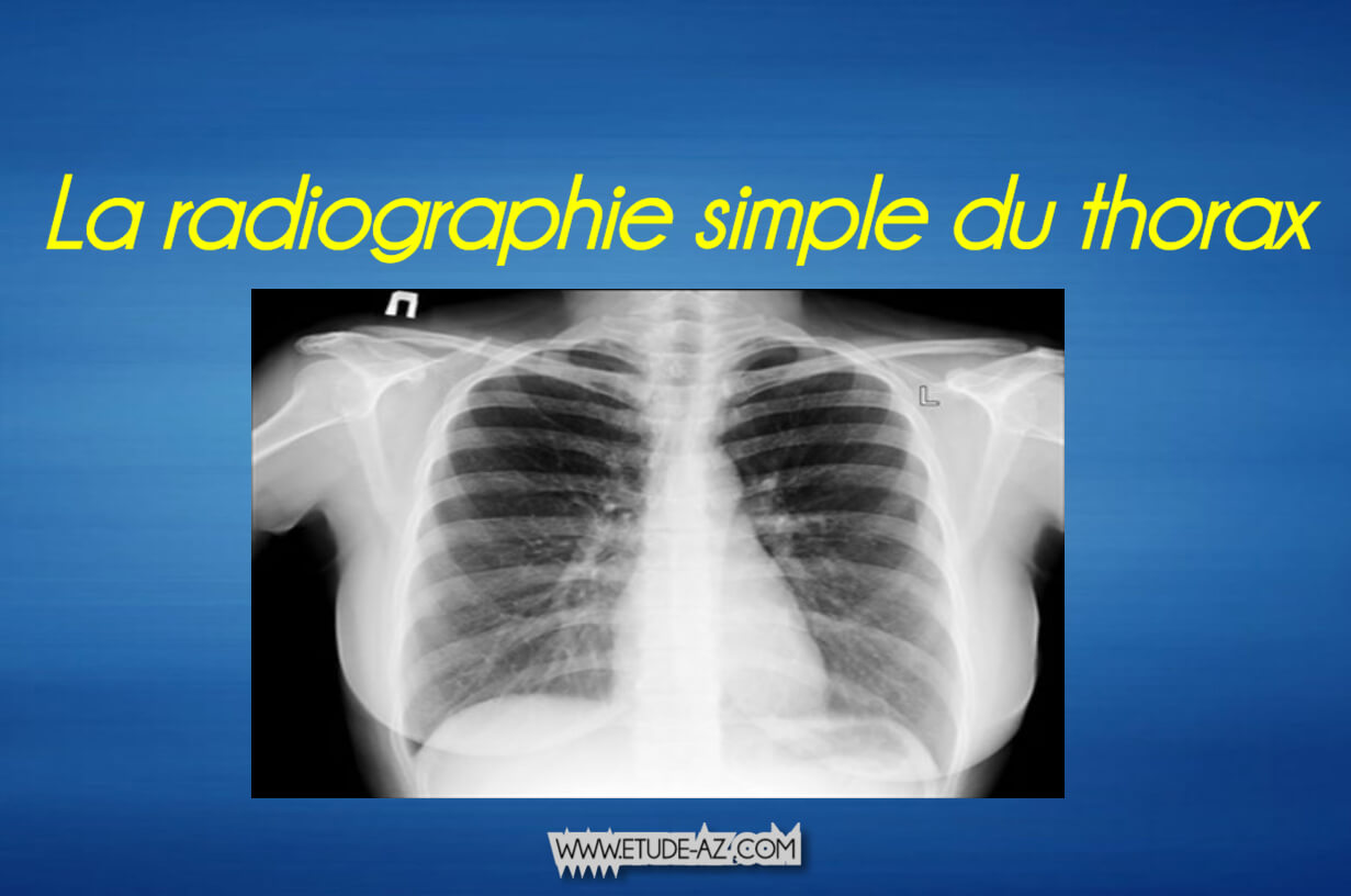 La radiographie simple du thorax .PDF