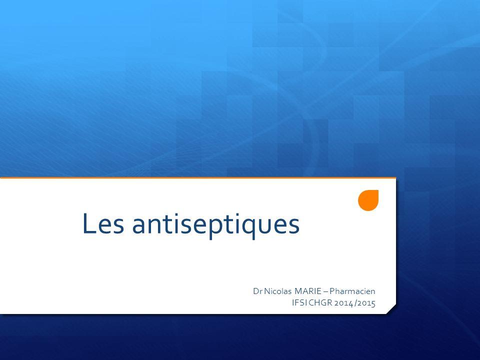 Les antiseptiques .PDF