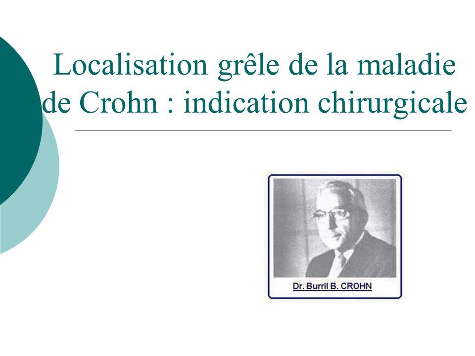Localisation grêle de la maladie de Crohn .PDF