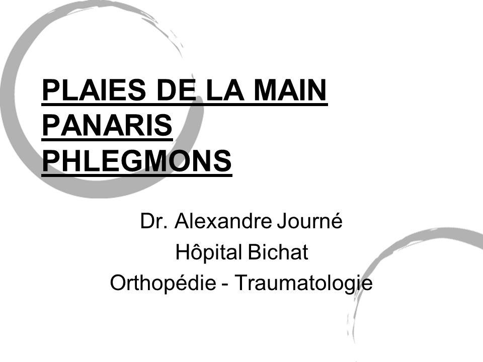 PLAIES DE LA MAIN PANARIS PHLEGMONS .PDF