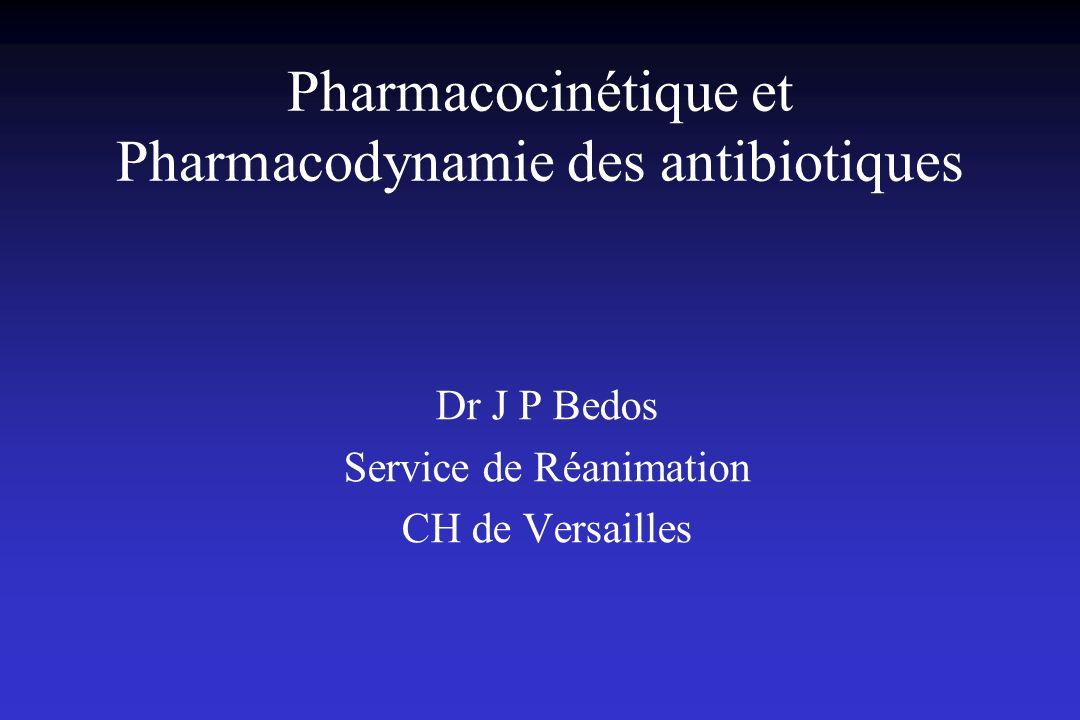 Pharmacocinétique et Pharmacodynamie des antibiotiques .PDF