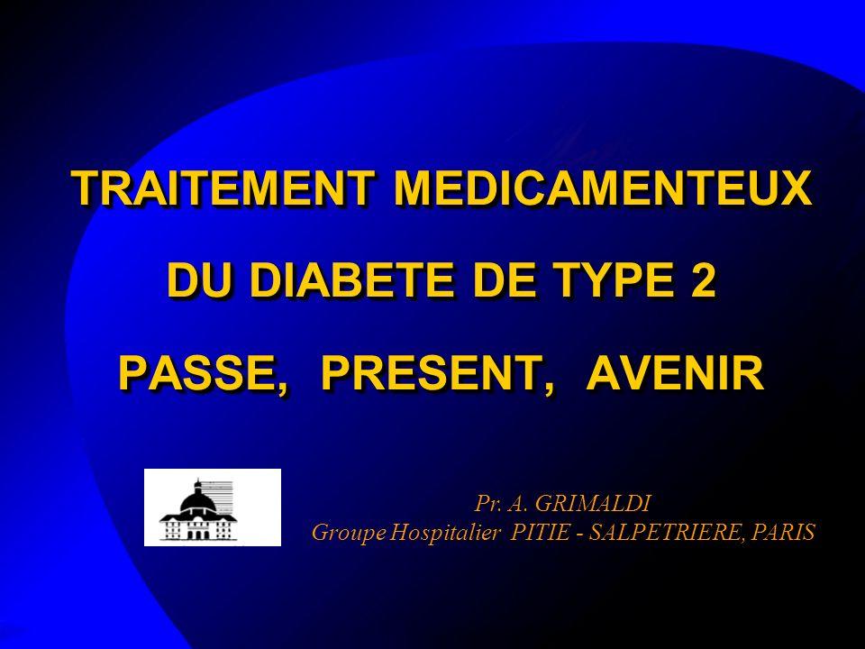 TRAITEMENT MEDICAMENTEUX DU DIABETE DE TYPE 2 PASSE, PRESENT, AVENIR .PDF