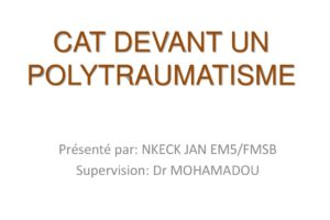 Cat devant un polytraumatisme .PDF