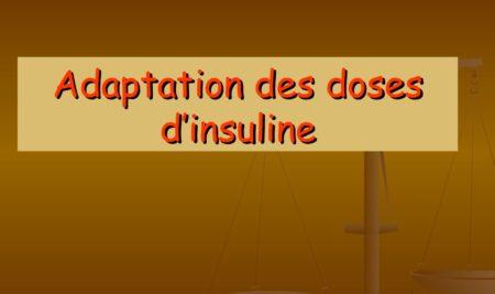 Cours d'adaptation des doses d'insuline.PDF