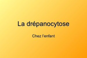 Drepanocytose .PDF