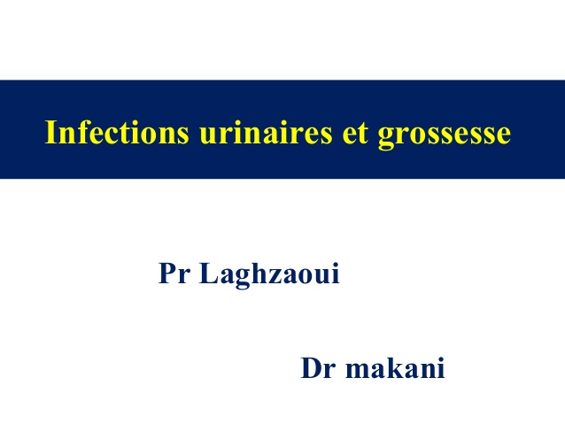 Infections urinaires et grossesse .PDF