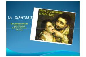 La diphtérie .PDF
