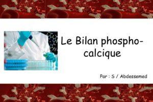 Le bilan phosphocalcique .PDF