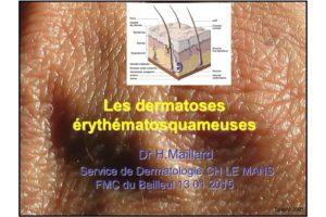 Les dermatoses érythématosquameuses .PDF