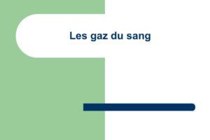 Les gaz du sang .PDF
