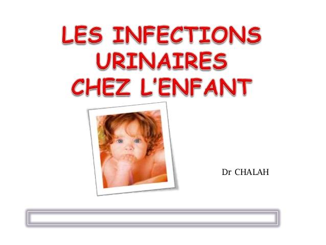 Les infections urinaires chez l'enfant .PDF