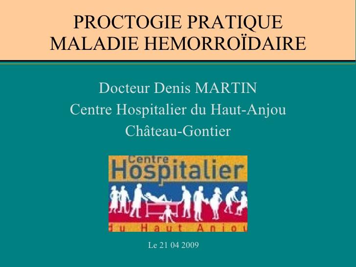 PROCTOLOGIE PRATIQUE MALADIE HÉMORROÏDAIRE .PDF