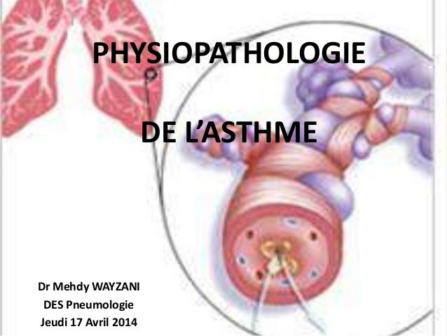 Physiopathologie de l'asthme .PDF