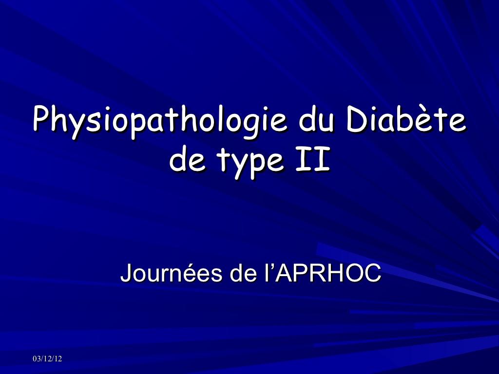 Physiopathologie du diabète de type 2 .PDF