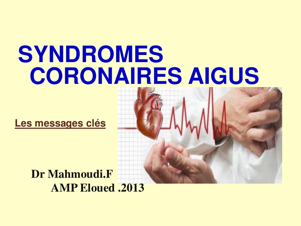 SYNDROMES CORONAIRES AIGUS .PDF