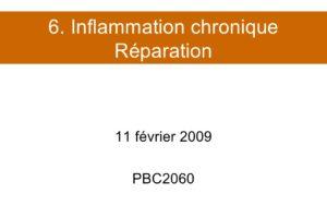 Inflammation chronique Réparation .PDF