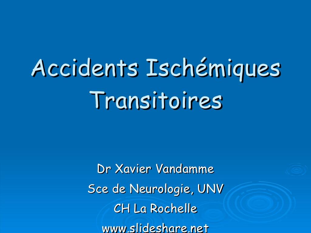 Accidents Ischémiques Transitoires .PDF