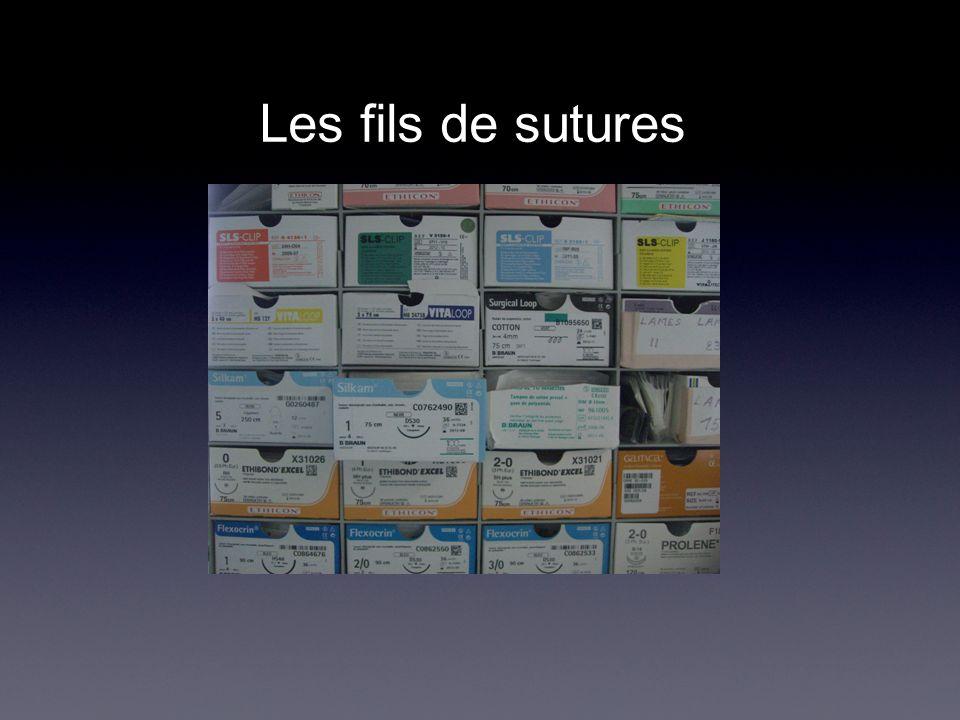 Les fils de sutures .PDF