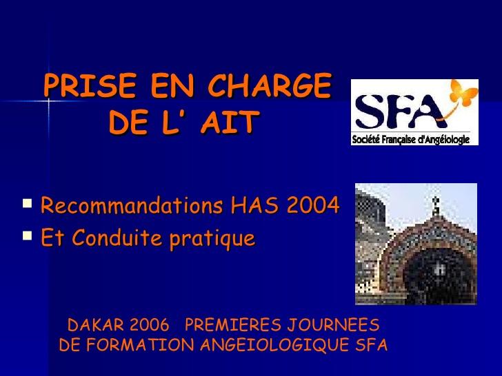 PRISE EN CHARGE DE L' AIT .PDF