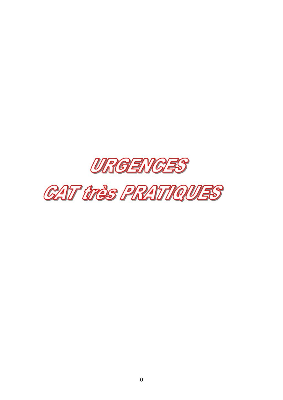 Urgences cat très pratique.PDF