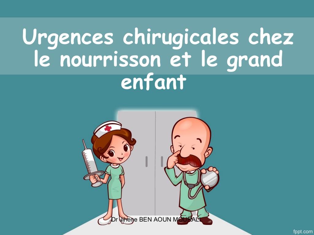 Urgences chirurgicales pédiatriques du nourrisson et grand enfant .PDF