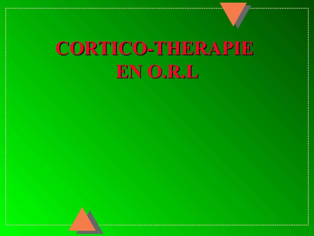 Corticothérapie en ORL .PDF