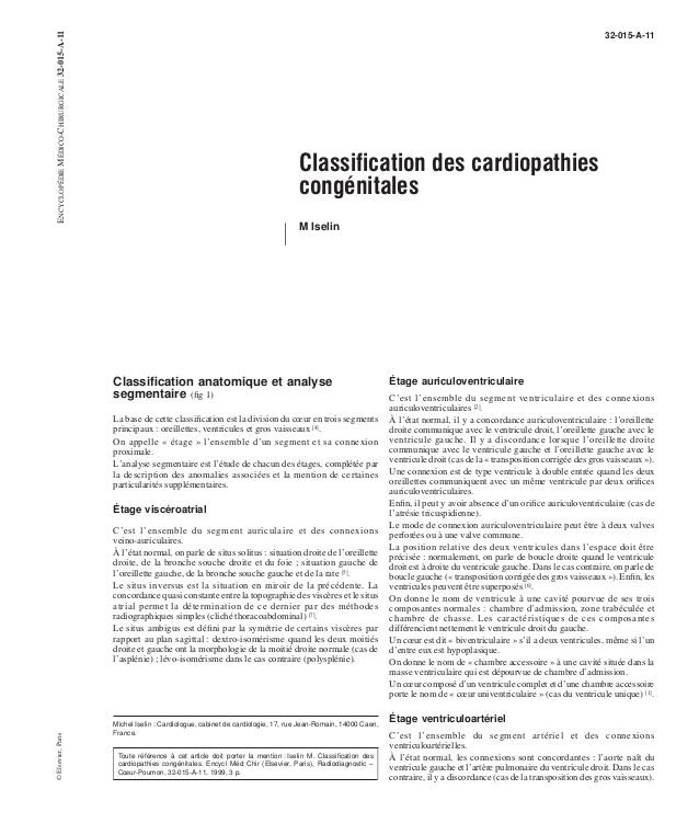 Classification des cardiopathies congénitales .PDF