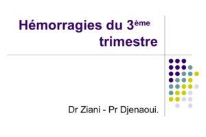 Hémorragies du 3 trimestre .PDF
