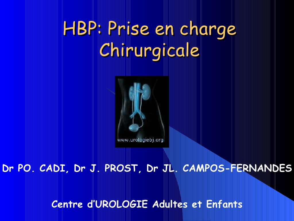 HBP Prise en charge Chirurgicale .PDF