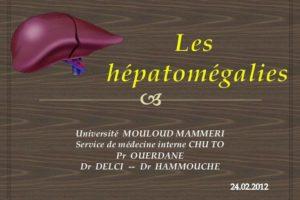 Les Hepatomegalies .PDF