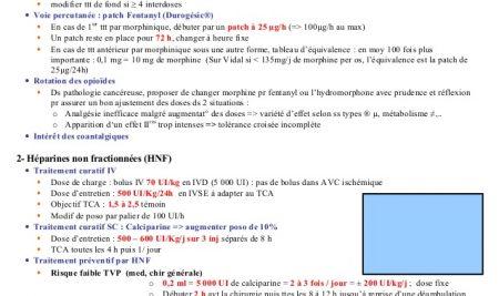 Les posologies a connaitre .PDF