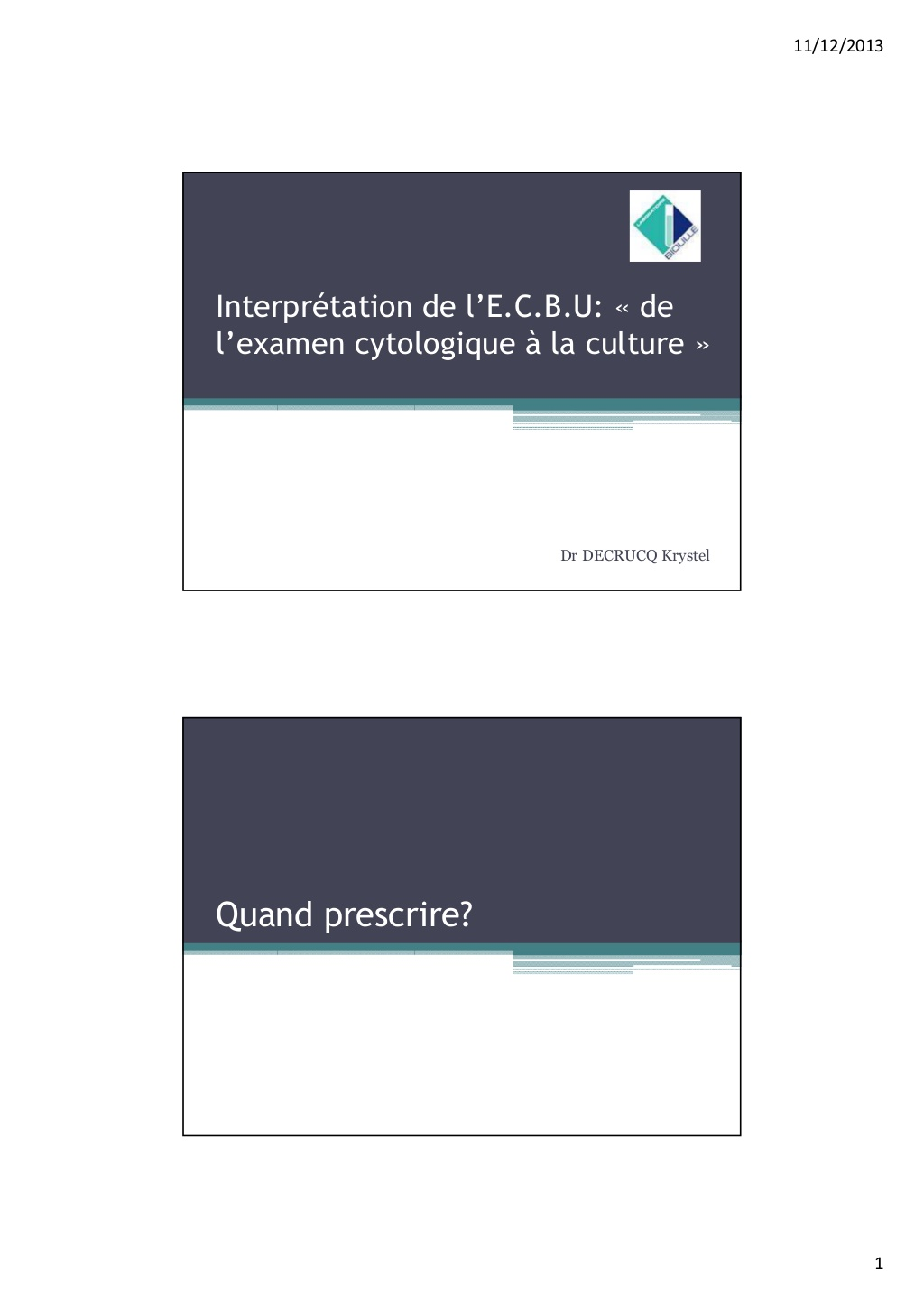 L'interprétation de l'E.C.B.U .PDF