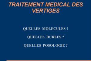 Traitement médical des vertiges .PDF