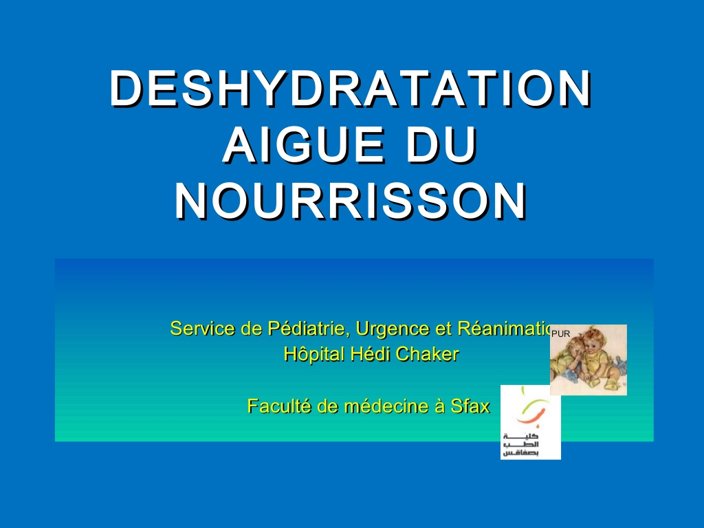 deshydratation aigue du nourisson .PDF