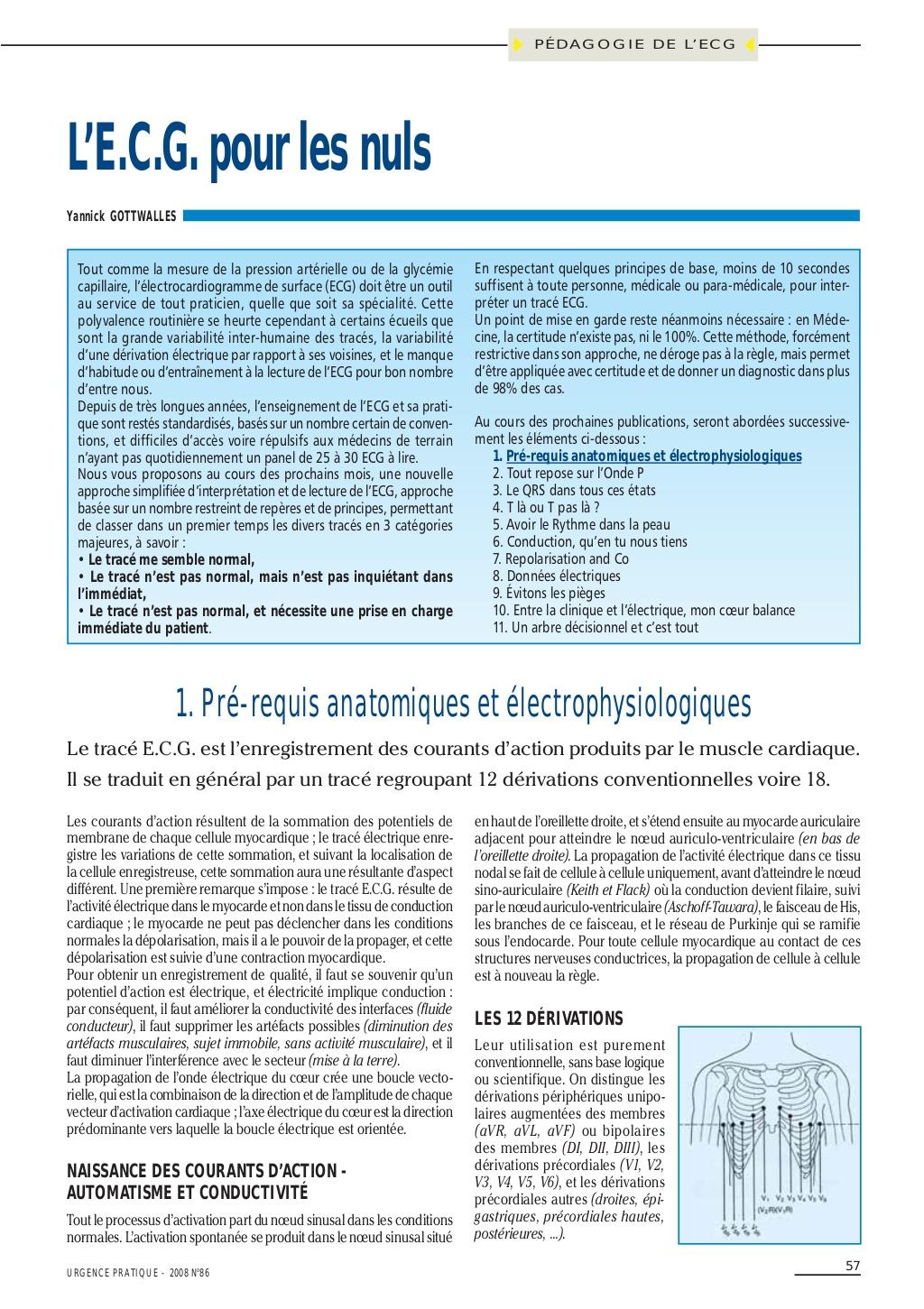 ECG pour les nuls .PDF